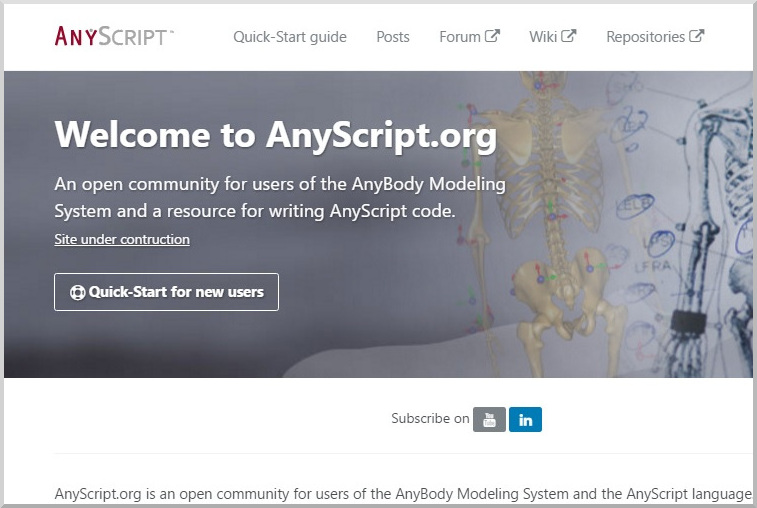 New AnyScript.org site