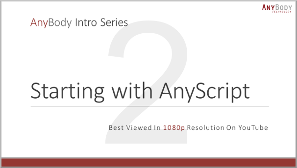 Starting with AnyScript