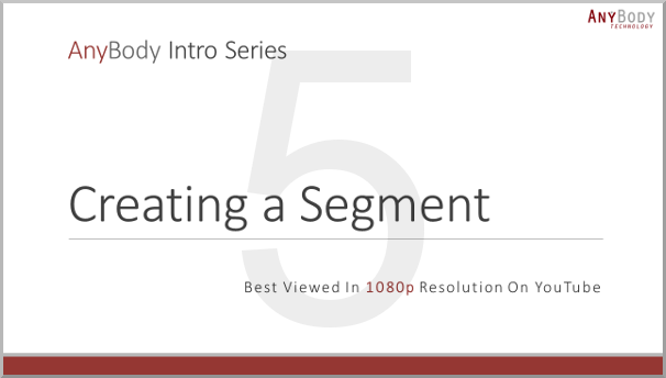 Creating a Segment